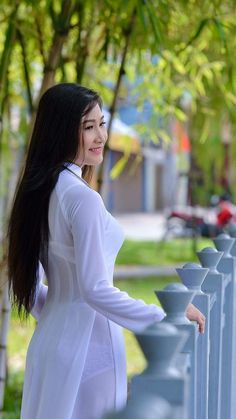 Best 12 All sizes Vietnamese Traditional Dress, Vietnamese Dress, Traditional Dresses, Sexy Outfits, Sexy Dresses, Beautiful Asian Women, Ao Dai, Sexy Asian Girls, Hot Girls