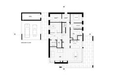 Image 26 of 26 from gallery of House in Dobra / Anna Thurow. Ground Floor Plan