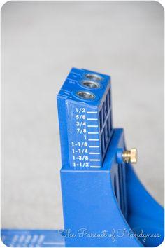 Make your Kreg pocket hole jig easier to use | #DIY