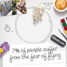 #5About Flying | 7% Of People Suffer From The Fear Of Flying | Pin And Share!
