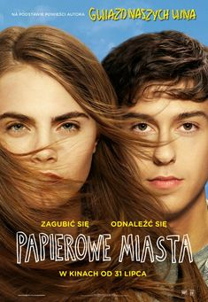 """Paper Towns on DVD October 2015 starring Nat Wolff, Cara Delevingne, Halston Sage, Cara Buono. Adapted from the bestselling novel by author John Green (""""The Fault in Our Stars""""), PAPER TOWNS is a coming-of-age story centering on Quenti Film 2015, 2015 Movies, Hd Movies, Movies To Watch, Movies Online, Teen Movies, Film Watch, Cinema Movies, Cara Delevingne"""