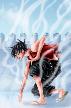 #Luffy #GearSecond #CP9