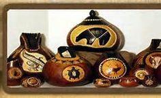 Southwestern Gourd Art