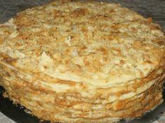 Tento prvotřídní recept jsem našla náhodou a teď už připravuji Napoleona jenom takhle: rychle, jednoduše a na pánvičce Napoleon Torte, Napoleons Recipe, Meat Cooking Times, Cooking Pork Roast, 18th Cake, Russian Cakes, Smooth Cake, Cooking Cake, Cooking Pumpkin