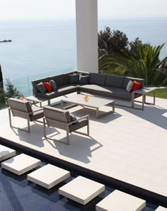 Dear sun,  It´s freezing cold out there. Please send us some sunlight. Thank you!  Ninix Lounge by Royal Botania / #outdoor #lounge #luxury www.royalbotania.com