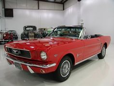 1966 FORD MUSTANG CONVERTIBLE FACTORY C-CODE AUTOMATIC