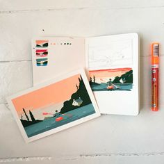 Le Moustoir dating in Arradon. Posca & Molotow markers on Olin paper. Molotow Marker, Posca Marker, Marker Art, Art Sketches, Art Drawings, Marker Drawings, Posca Art, Pen Illustration, Drawn Art