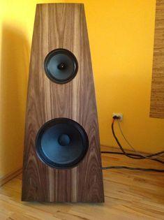 Open Baffle DIY speakers, Supravox and Supravox Open Baffle Speakers, Wooden Speakers, Tower Speakers, Hifi Speakers, Hifi Audio, Built In Speakers, Audio Design, Speaker Design, Sound Speaker