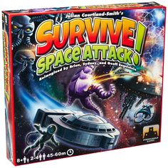 Amazon.com: Survive Space Attack Board Game: Toys & Games