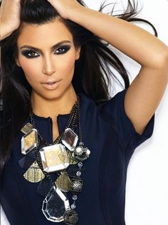 I love Kim K. make up