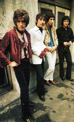 The Who, 1967;Roger Daltrey, Keith Moon, Pete Townshend, John Entwistle.