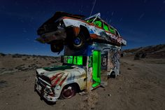 stacked. goldfield nv. 2015. by eyetwist