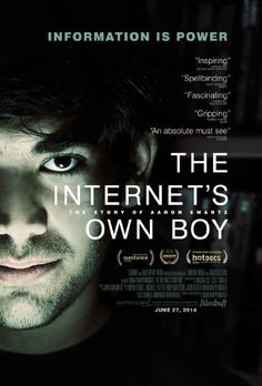 The Internet's Own Boy: The Story of Aaron Swartz (2014) by B. Knappenberger at Kino Lucerna (Jeden Svět)