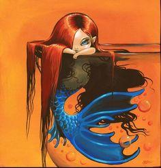 Art: Sweet Mermaid by Artist Nico Niemi