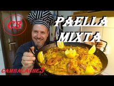 PAELLA MIXTA (CARNE & MARISCO) FACIL Y SENCILLA - YouTube