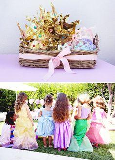birthday party princess crowns