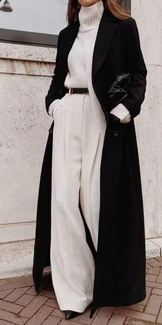 Warm Outfits, Winter Fashion Outfits, Mode Outfits, Classy Outfits, Look Fashion, Autumn Winter Fashion, Fashion Check, High Fashion, Fall Winter