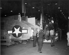 Republic P-47D Thunderbolt completed wing storage. by aeroman3, via Flickr