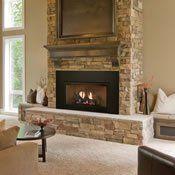Empire Innsbrook Ventless Gas Fireplace Insert Vfpc28in Gas Fireplace Insert Gas Fireplace Fireplace Inserts
