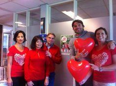 Dress Red Day voor de professional in MC Baarn!