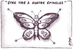 Expression : être tiré à 4 épingles ;) French Expressions, French Phrases, French Words, French Teacher, Teaching French, Communication Orale, French Classroom, France, More Than Words
