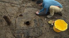 """A Bronze Age wheel described as an """"unprecedented"""" find is unearthed at a site dubbed """"Britain's Pompeii""""."""