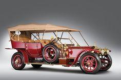 1911 Rolls-Royce Silver Ghost, un auto de otra época pensado para un día bien soleado!