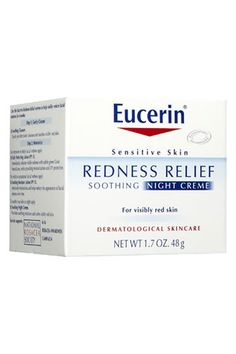 This gentle gel-crème provides immediate redness relief while soothing and hydrating an irritated complexion.   Eucerin Redness Relief Sooth...