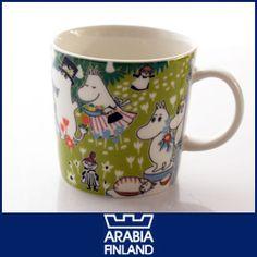 ARABIA  ( アラビア ) MOOMIN ( ムーミン ) トーベ・ヤンソン生誕 100周年 記念 マグ .【楽天市場】