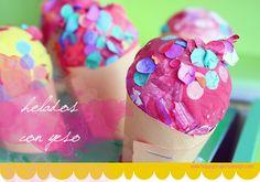 Al rico helado DIY