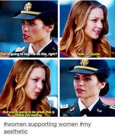 Kara & Lucy Lane - Supergirl