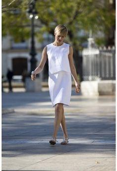 Luchtige A-lijn! De jurk van luchtig linnen is een geweldig kledingstuk voor tropische temperaturen.