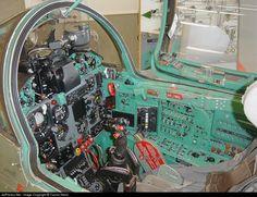 Finnish MiG-21bis cockpit.
