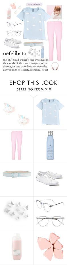 """KPOP Pastels"" by mamasuga ❤ liked on Polyvore featuring claire's, Michael Kors, Drybar, ESCADA, Lacoste, WALL, Wildfox, Davines, Too Late and Beats by Dr. Dre"