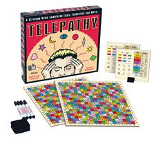Unlock the power of your mind with Telepathy - the game that tests and trains your mind in the ways of deduction, logic and intuition. In this challenging, puzzle solving game players go head to head to see who can be the first to guess their opponent's secret square.