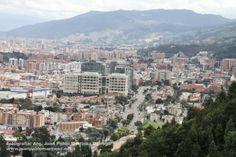 Vista de Bogotá desde la Calera