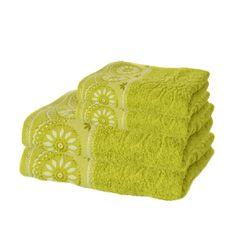 Set 4 prosoape Jacquard Verde Towel, Towels