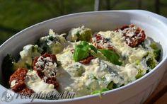 Olaszos, csőben sült brokkoli recept fotóval