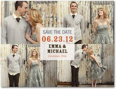 Center Square Save the Date