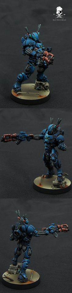Mobile Brigada. Could totally see this as a prototype space marine proxy.