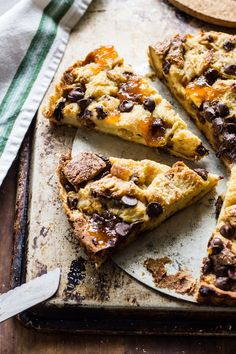 Jamie Oliver's recipe for panettone pudding tart.