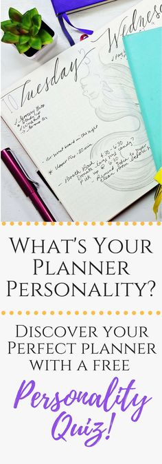 Fast, fun and free personality quiz! What's your planning style? Find out and create your perfect planner! Bullet Journal For Beginners, Bullet Journal How To Start A, Bullet Journal Spread, Bullet Journal Layout, Bullet Journal Inspiration, Journal Ideas, Bullet Journals, Bujo, Planner Organization