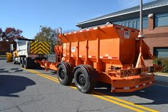 This is one of our tow plows. It is a steerable, trailer mounted plow that is pulled behind a tandem axle snow plow. Tow plows are equipped with a plow and either a granular spreader for salt or a tank for dispensing liquids for snow and ice control. Click on the photo to learn more! #MdTraffic #MdSnow #Maryland #Winter #Trucks #Plows Snow Plow, Snow And Ice, Safety Tips, Cool Trucks, Tandem, Maryland, Salt, Wheels, Winter