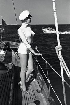 Helmut Newton Cannes 1975