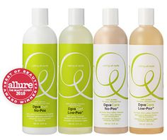 No-Poo Your Hair!  My favorite sulfate/silicone free products that have made my hair softer, shinier, and healthier.  I'll never go back! www.onesehtwoshe.com