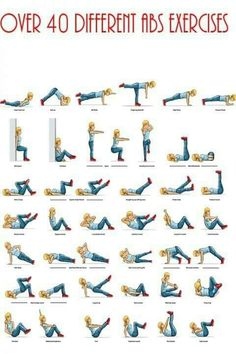 Easy Ab Workouts!!