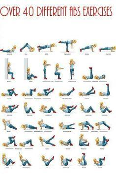 Elke dag een andere oefening