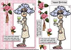 Stella has a timeless look quick card on Craftsuprint designed by Carol Smith - a quick make topper sheet featuring Stella who is celebrating her birthday with a nice glass of wine the comment being.... You have that timeless look that never gets old....I think it's called vintage happy birthday tag also provided for the placement of your choice.thank you for looking please take a peek at my other items - Now available for download!