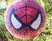 Spiderman Sequined Christmas Ornament