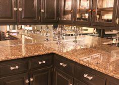 kitchen of the day: britannia cooker with a mirror backsplash
